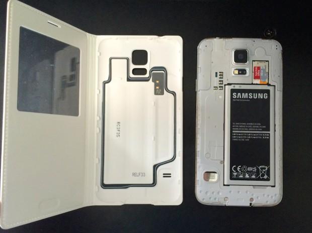 Чехол S View Flip Cover для Galaxy S5
