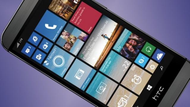 Новый HTC One M8 с Windows Phone
