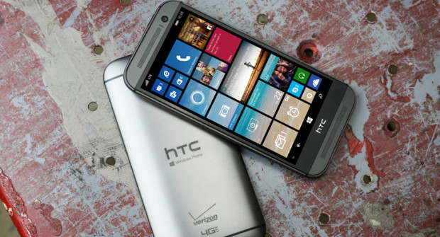 Новый HTC One M8 с Windows Phone