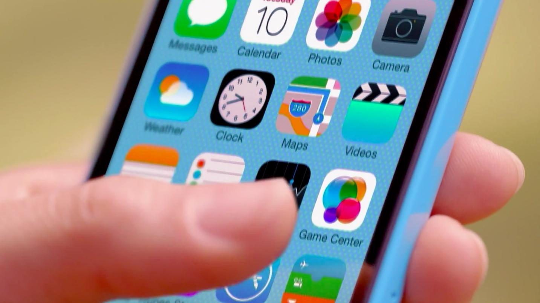 Операционная система iOS 7 на iPhone 5S