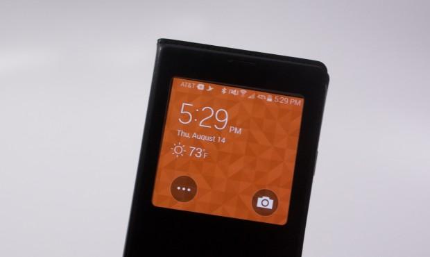 Чехол S View Flip Cover на Galaxy S5