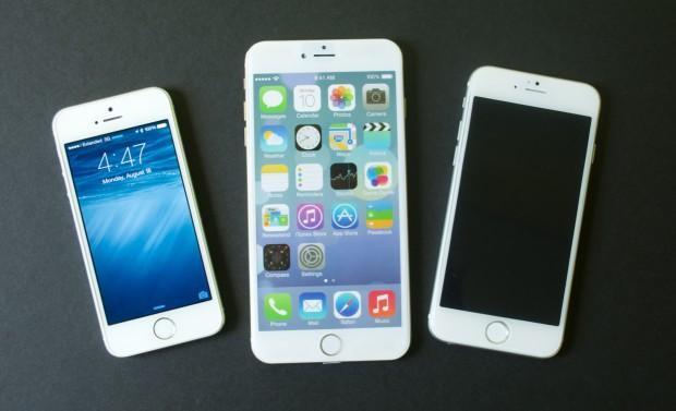 5,5-дюймовый iPhone 6 и iPhone 5S