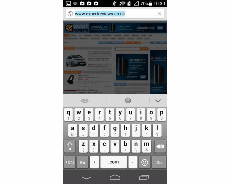 Клавиатура Huawei Ascend P6