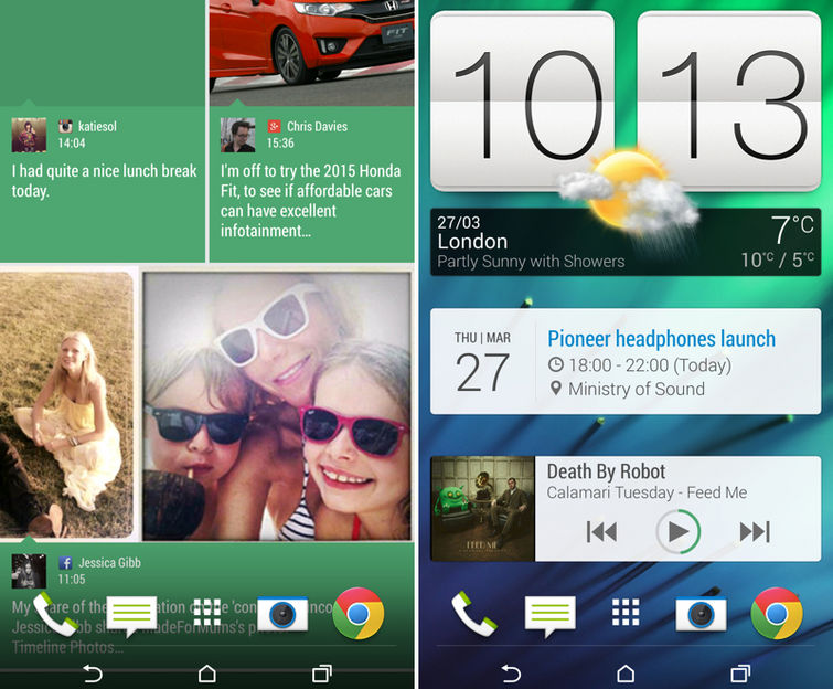 Интерфейс HTC Sense 6.0