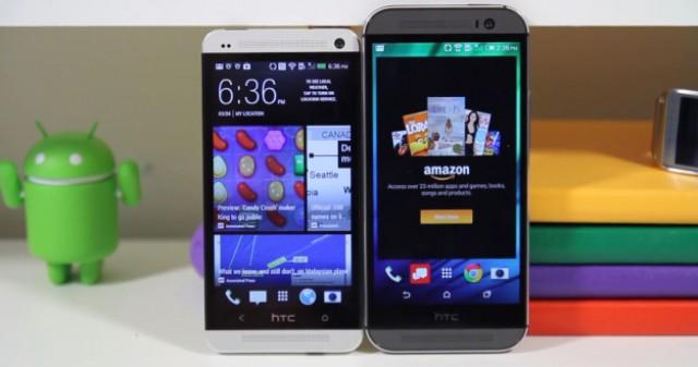 Сравнение HTC One M8