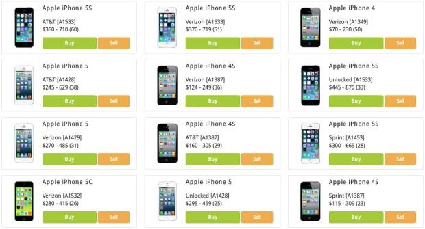 Как продать iPhone 5S