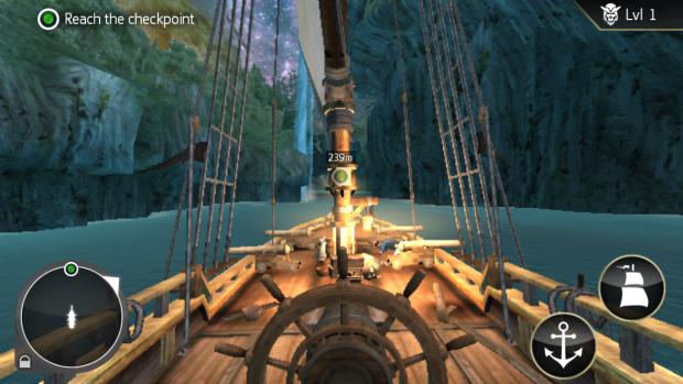 Скриншот игры с экрана Galaxy S5 Mini