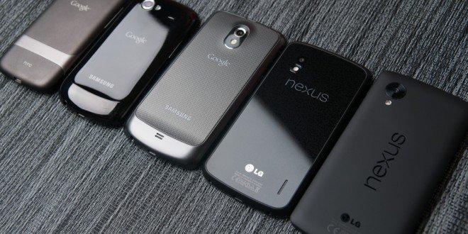 Смартфоны Nexus