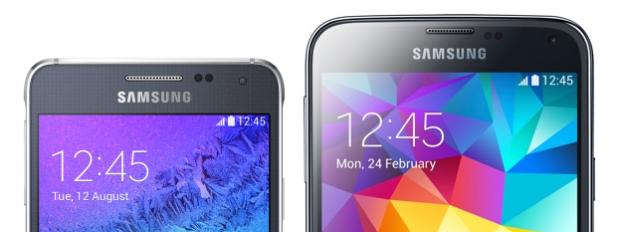 Galaxy S5 и Alpha