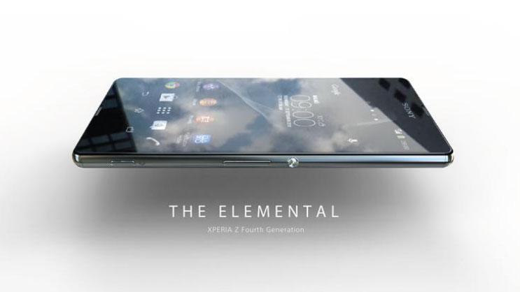 Концепция Sony Xperia Z4