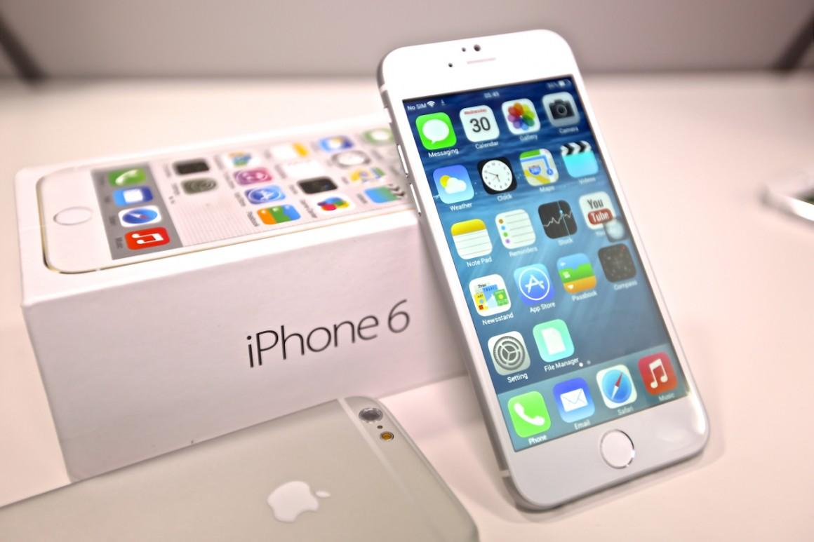 Обновление iOS 8.1.2 на Apple iPhone 6