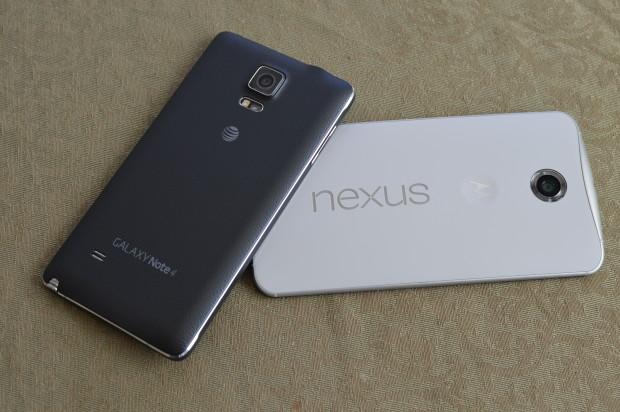 Galaxy Note 4 и Nexus 6