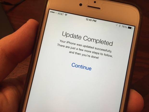 Восстановление iPhone из iCloud