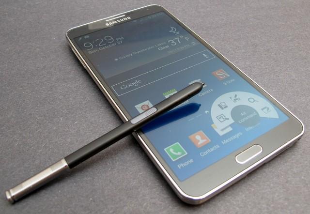 Обновление Galaxy Note 3