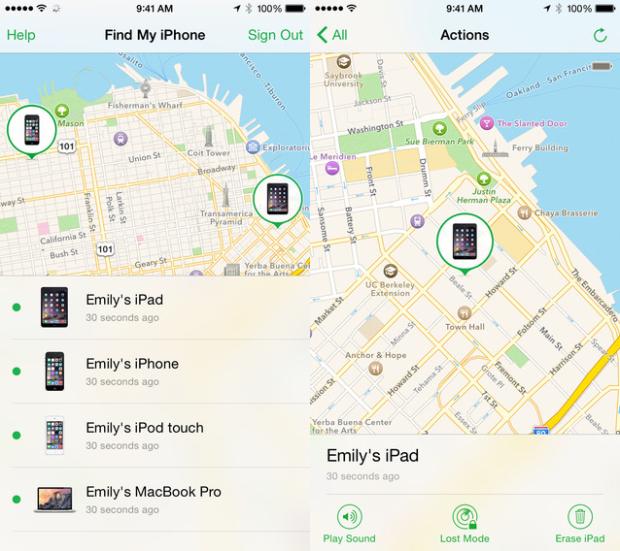 Приложение Find My iPhone