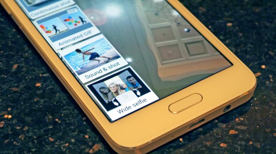 Режимы фотографии Samsung Galaxy A3