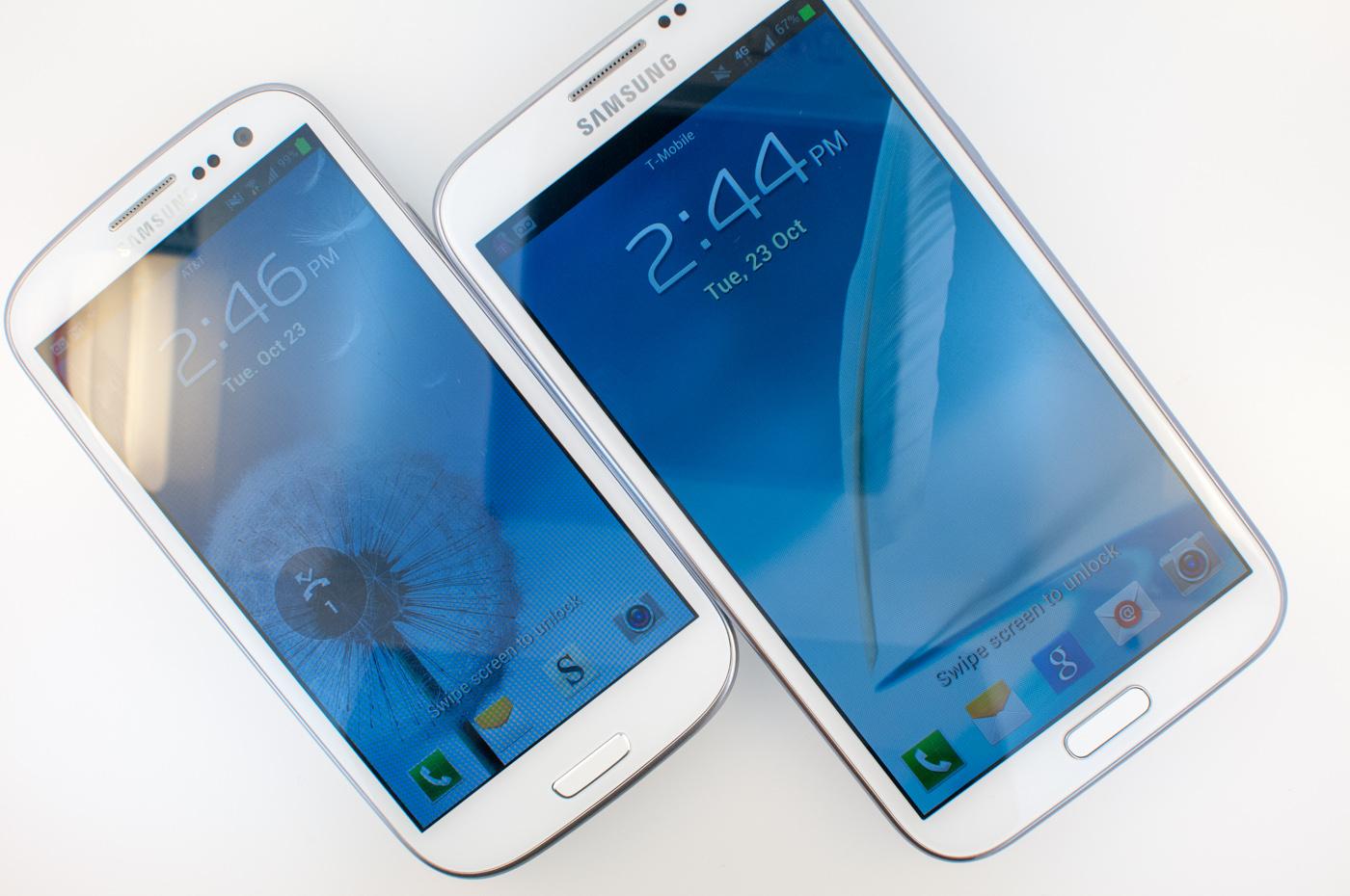 Galaxy S6 против Galaxy Note 4