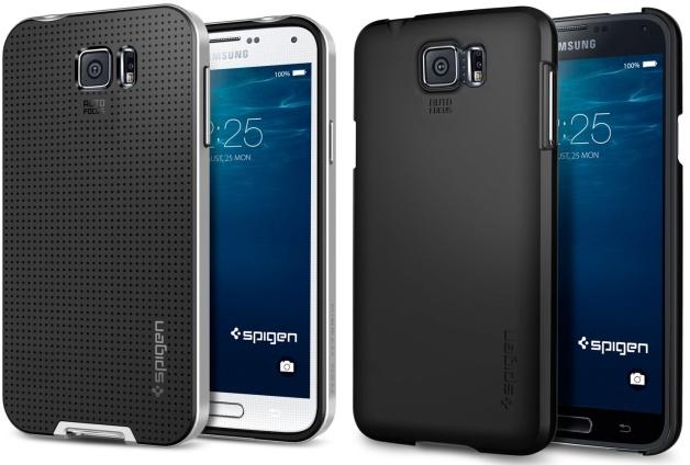 Samsung Galaxy S6 в корпусе Spigen