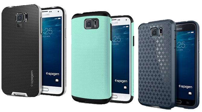 Samsung Galaxy S6 и чехлы Spigen