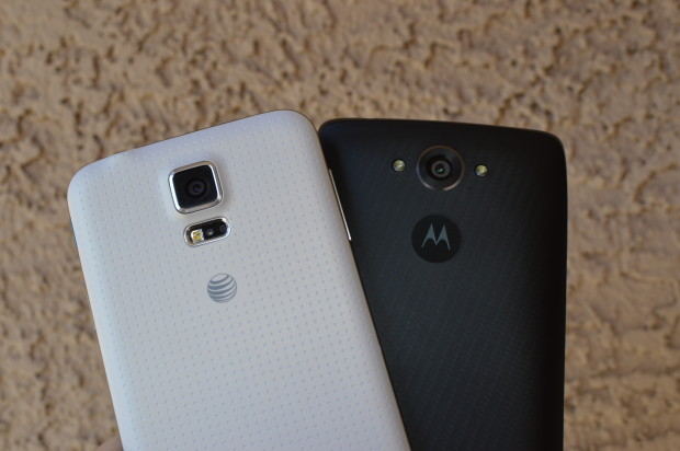 Samsung Galaxy S6 и Motorola Nexus 6