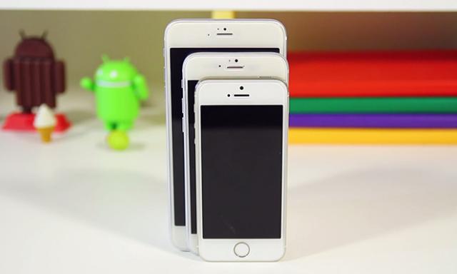 iPhone 6 с iPhone 6 Plus и iPhone 5S