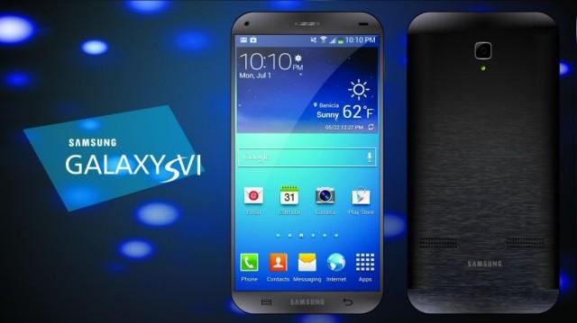 Концепт Samsung Galaxy S6