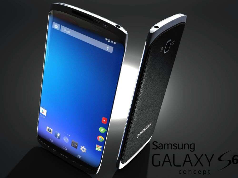 Samsung Galaxy S6. Концептуальная модель