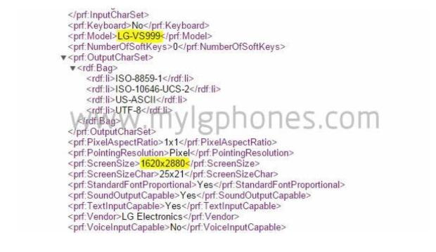 User Profile LG G4