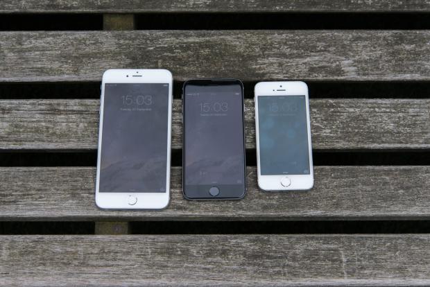 iPhone 6 Plus, iPhone 6 и iPhone 5S