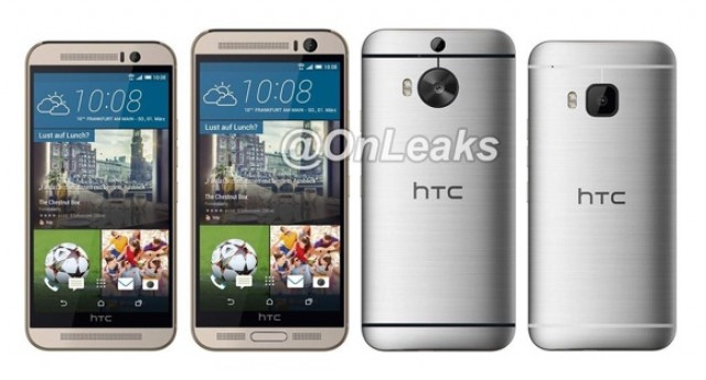 Дизайн HTC One M9 Plus