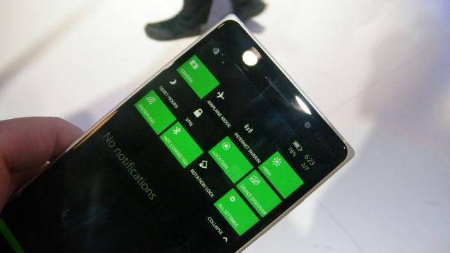 Настройки Windows Phone 10