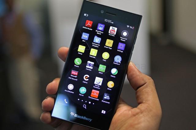 Обзор BlackBerry Leap
