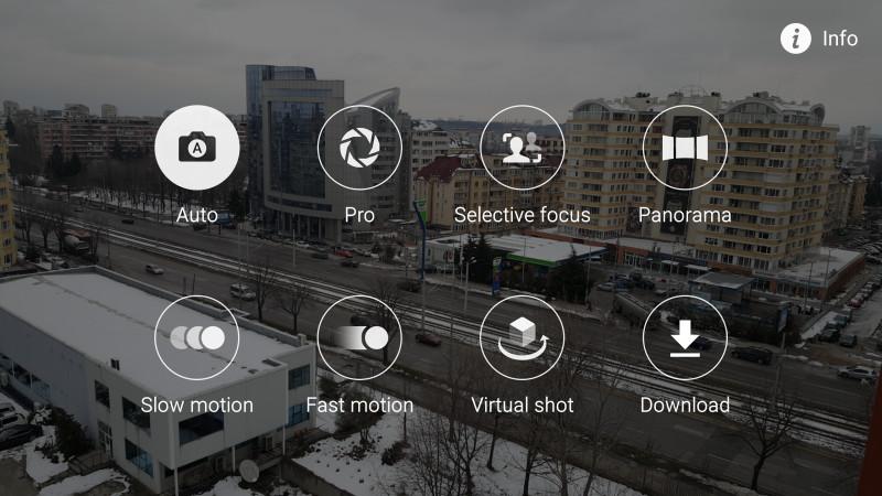 Режимы камеры Galaxy S6