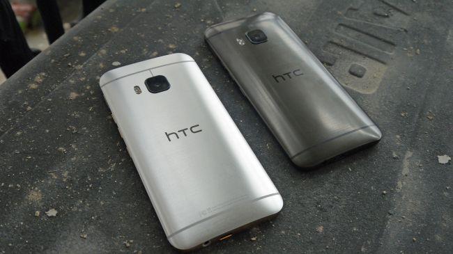 Смартфоны HTC One M9. Серебро и бронза