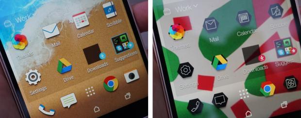 Темы интерфейса HTC One M9
