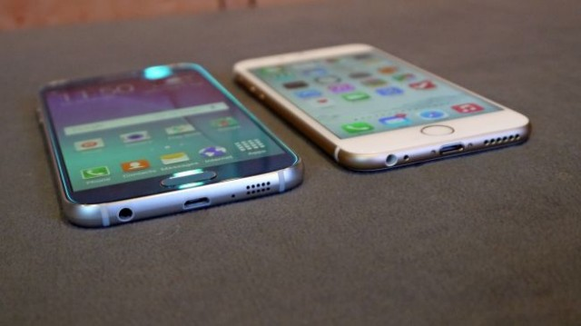 Apple iPhone 6 против Galaxy S6