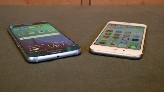 Galaxy S6 против iPhone 6