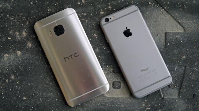 HTC One M9 и iPhone 6