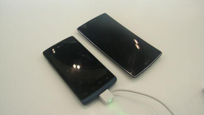 LG Joy и LG G Flex 2
