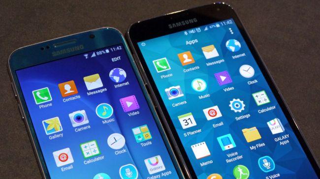 Samsung Galaxy S6 и TouchWiz