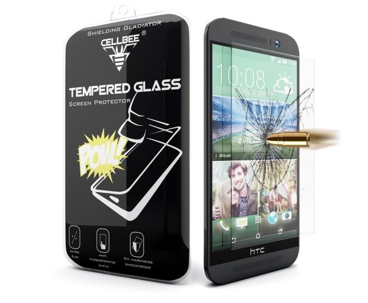 Защита экрана из закаленного стекла CellBee для HTC One M9