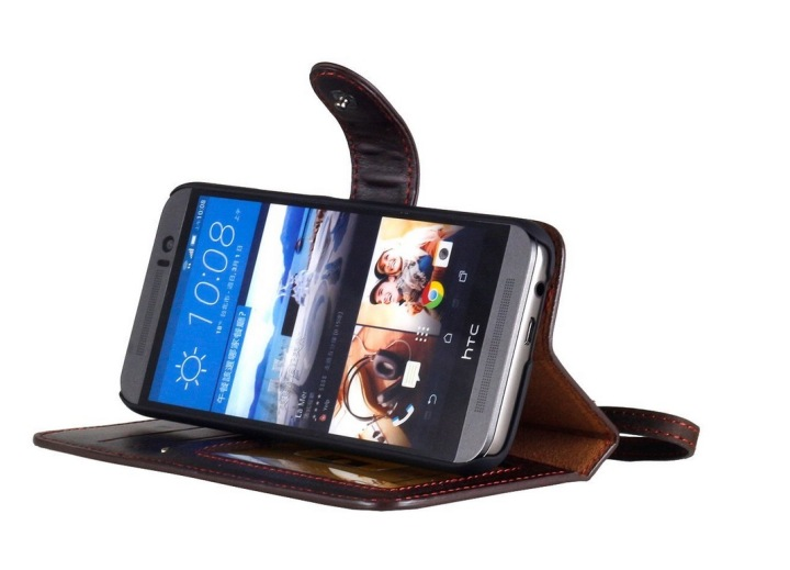 Кожаный чехол-бумажник AceAbove для HTC One M9