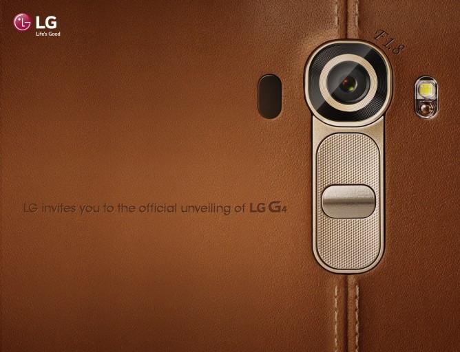 Новый LG G4. Тизер