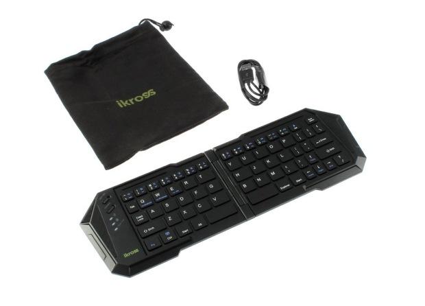 Портативная складная клавиатура для HTC One M9 от iKross