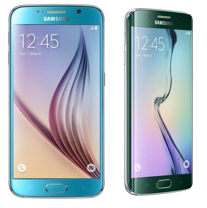 Сравнение Galaxy S6 и Galaxy S6 Edge