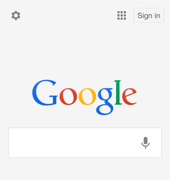Авторизация в Google с телефона