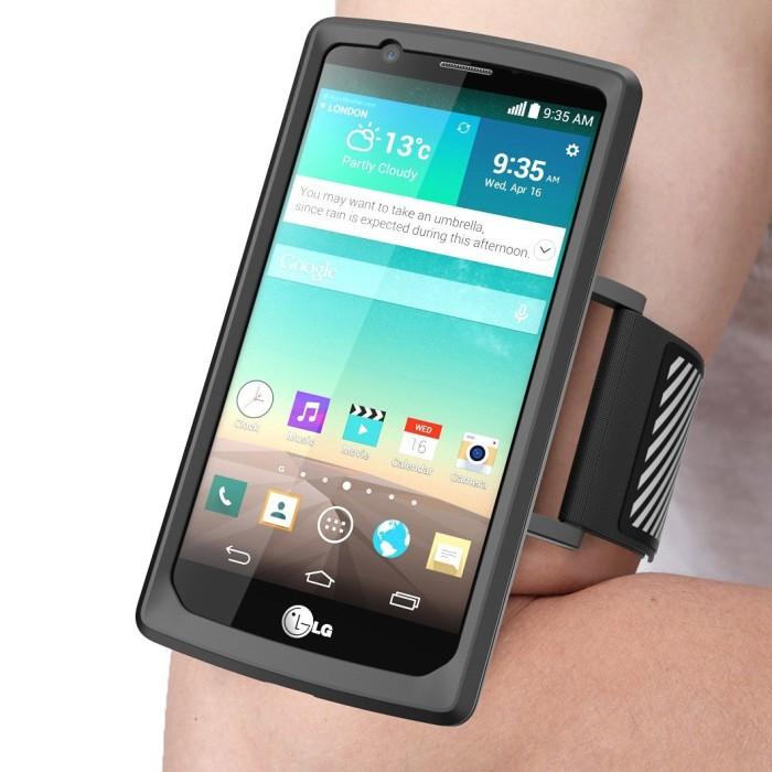 Аксессуары для LG G4. Чехол-повязка SupCase LG G4 ArmBand