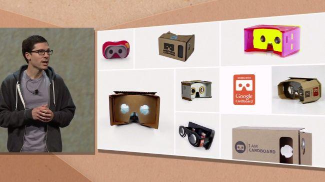 Модели Google Cardboard