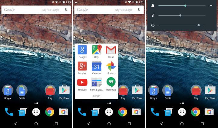 Настройка громкости Android M