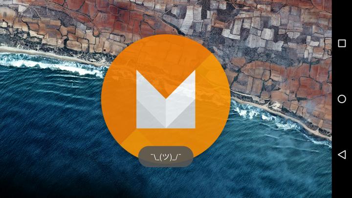 Пасхалка в Android M